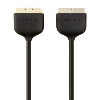 Belkin kabel SCART video, zlacený - 2m