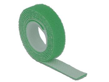 Delock Hook-and-loop fasteners L 1 m x W 13 mm roll green