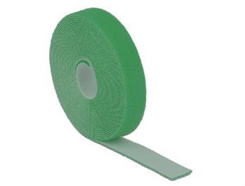 Delock Hook-and-loop fasteners L 5 m x W 20 mm roll green