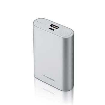 iMyMax X10 Power Bank 10.000mAh, Silver