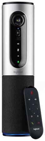 Logitech webkamera ConferenceCam Connect, stříbrná