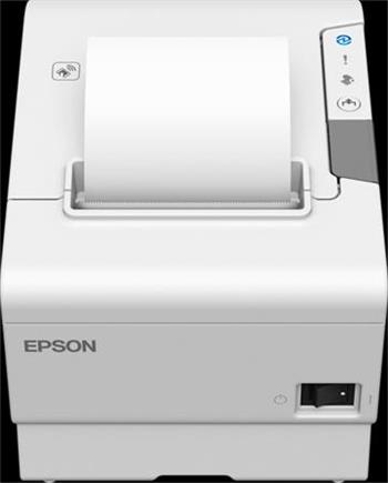 EPSON TM-T88VI-102 - bílá/USB/ethernet/serial/zdroj/EU kabel/buzzer