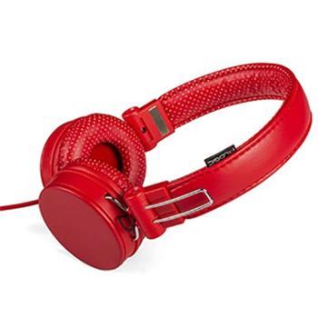 Modecom Logic MH-5 sluchátka s mikrofonem, 1,5m kabel, 3,5mm jack, červená