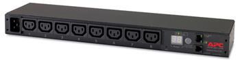 APC Rack PDU, Metered, 1U, 16A, 208/230V, C20 -> (8) C13