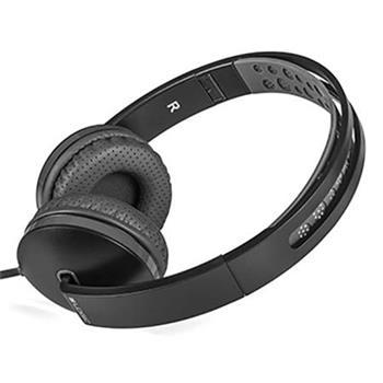 Modecom Logic MH-7 sluchátka s mikrofonem, 1,5m kabel, 3,5mm jack, černá