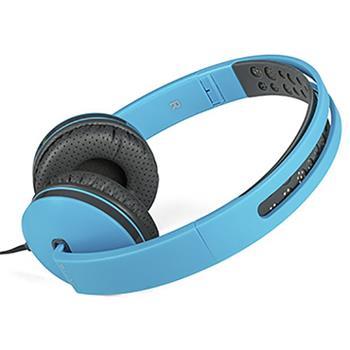 Modecom Logic MH-7 sluchátka s mikrofonem, 1,5m kabel, 3,5mm jack, modrá