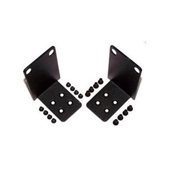 Rack Mount Kit for one switch (X1018 X1018P X1026 X1026P or X4012) into a 1 RU rack opening Customer Kit