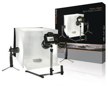 Camlink CL-STUDIO10 - Skládací Mini Foto Studio 40 x 40 x 40 cm