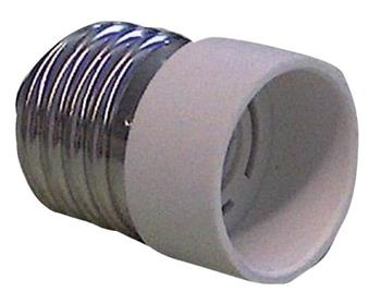 Alpha Elettronica EL-E27E14 - redukce žárovkové patice E14 na E27