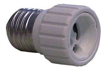 Alpha Elettronica EL-E27GU10 - redukce žárovkové patice GU10 na E27