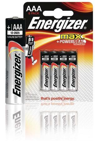 Energizer EN-53541022800 - Alkalická Baterie AAA 1.5 V Max, 8 kusů