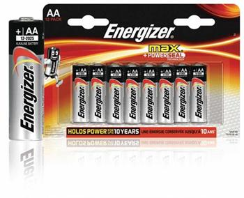 Energizer EN-53541025900 - Alkalická Baterie AA 1.5 V Max, 12 kusů