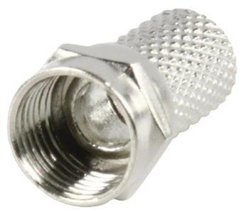 Valueline FC-001 - F-Konektor 7.0 mm zástrčka Kov Stříbrná