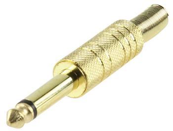 Valueline JC-032 - Mono Konektor 6.35 mm zástrčka Kov