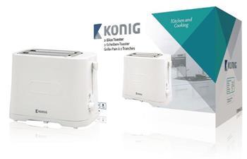 König KN-BT20 - Topinkovač 700 W Bílá