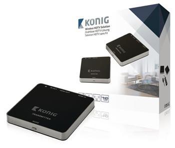 König KN-WLHDMI10 - 5 GHz Bezdrátový HDMI Transmitter 1080p / 3D Podpora - Rozsah 30 m