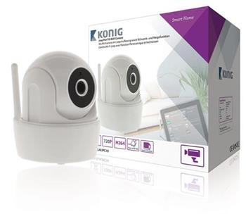 König SAS-CLALIPC10 - HD Inteligentní IP Kamera Interiér 720P