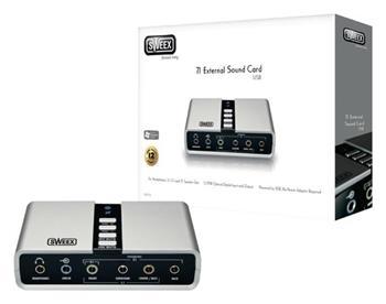 Sweex SC016 - Zvuková Karta USB 7.1