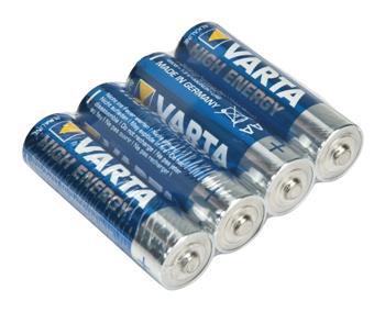 Varta VARTA-4906/TR - Alkalická Baterie AA 1.5 V High Energy - 4 kusy, fólie