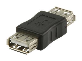 Valueline VLCP60900B - adaptér USB 2.0 A zásuvka - A zásuvka, černá