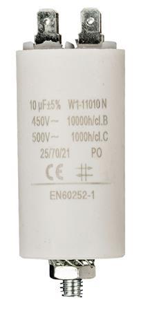 Fixapart W1-11010N - Kondenzátor 450V + Zem Produktové Označení Originálu 10.0uf / 450 v + earth