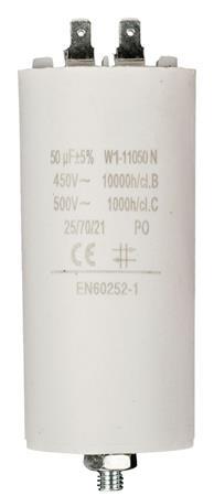 Fixapart W1-11050N - Kondenzátor 450V + Zem Produktové Označení Originálu 50.0uf / 450 v + earth