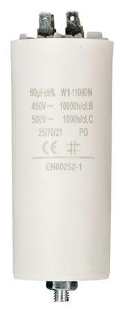 Fixapart W1-11060N - Kondenzátor 450V + Zem Produktové Označení Originálu 60.0uf / 450 v + earth