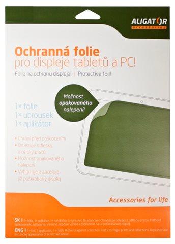 Aligator Fólie Tablet (200x270mm) transparentní, univerzální s mřížkou, 1ks + aplikátor