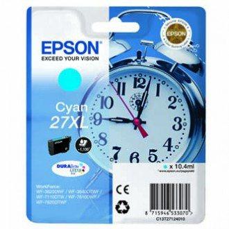 EPSON cartridge T2712 cyan (budík) XL