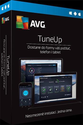 AVG TuneUp - Unlimited - předplatné na 1 rok