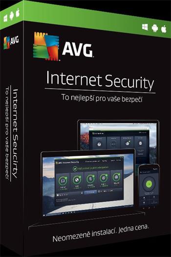 AVG Internet Security - Unlimited - předplatné na 1 rok - elektronicky