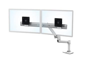 ERGOTRON LX Desk Dual Direct Arm, bílý, stolní rameno pro 2 monitry až 25