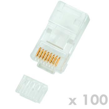 DATACOM Plug UTP CAT6 8p8c- RJ45 drát - 100 pack