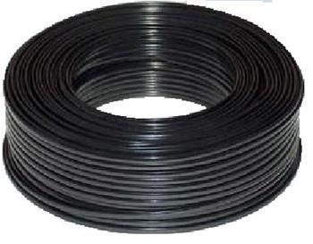 DATACOM Telefonní kabel 6-žilový lanko 100m černý