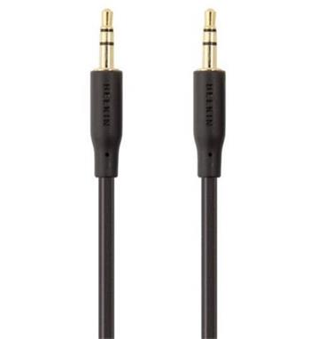 Belkin audio kabel M/M, 1m . zlacené konektory
