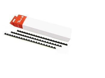 PEACH Vazací kroužky 21 Rg A4 12mm černá (25) 1 balení obsahuje 25 kroužků R-PB412-02