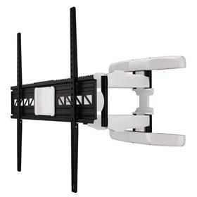 Hama nástenný držiak TV XL, pohyblivý, 800x600, 5*, čierny/biely