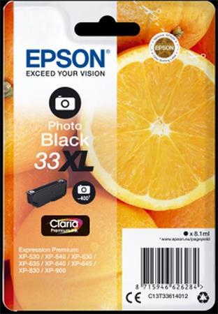 EPSON cartridge T3361photo black XL (pomeranč)