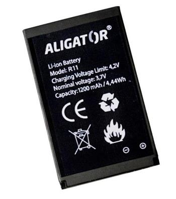 Aligator baterie R11 eXtremo, Li-Ion 1200 mAh, originální