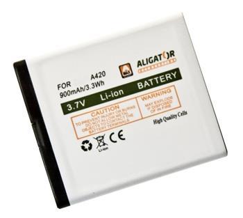 Aligator baterie A420/V500, Li-Ion 700 mAh, originální