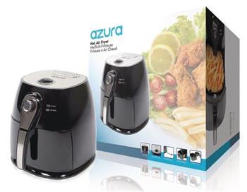 AzurA AZ-AF10 - horkovzdušná fritéza, 3 litry, 1400W, černá