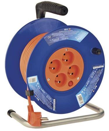 Emos prodlužovací buben - 4 zásuvky, 25m, 1.0mm