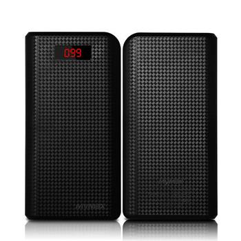 BAZAR_iMyMax Carbon Power Bank 30.000mAh, Black