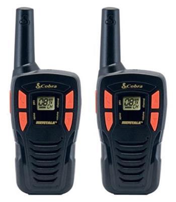 Cobra AM245 - profi PMR vysílačka, 5 km, 2 ks