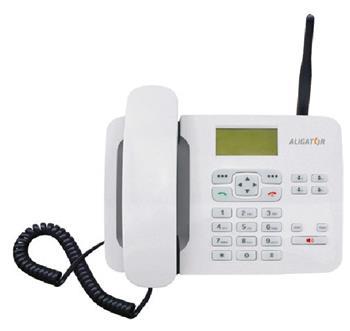 ALIGATOR T100, stolní GSM telefon