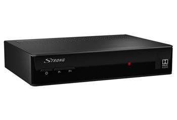 STRONG DVB-S2 přijímač SRT 7502/ Full HD/ Skylink ready/ čtečka karet/ EPG/ IR/ USB/ HDMI/ SCART/ černý