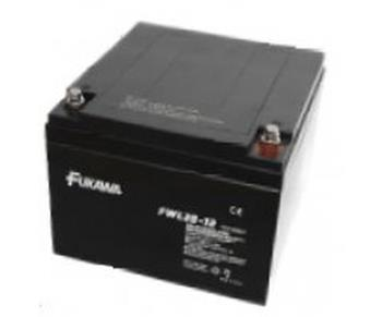 akumulátor FUKAWA FWL 28-12 (12V; 28Ah; závit M5; životnost 10let)