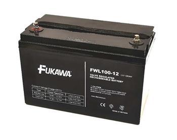 akumulátor FUKAWA FWL 100-12 (12V; 100Ah; závit M6; životnost 10let)