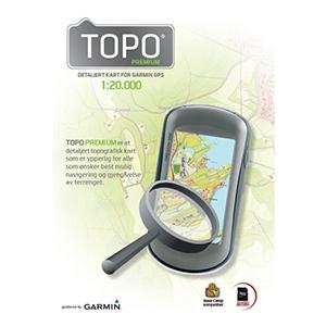 Garmin Turist. mapa Norska TOPO Norway Premium 5, Hardangervidda, microSD/SD