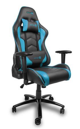 CONNECT IT herní křeslo,sklon zad do 180°, modré